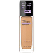 Maybelline Fit Me Dewy + Smooth Foundation, Soft Honey