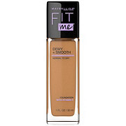 Maybelline Fit Me Dewy + Smooth Foundation, Toffee