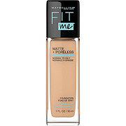 Maybelline Fit Me Matte & Pore Foundation Warm Nude