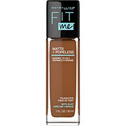 Maybelline Fit Me Matte + Poreless Liquid Foundation, Deep Golden