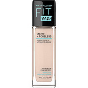 Maybelline Fit Me Matte + Poreless Liquid Foundation, Natural Ivory