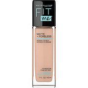Maybelline Fit Me Matte + Poreless Liquid Foundation, Pure Beige