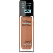 Maybelline Fit Me Matte + Poreless Liquid Foundation, Spicy Brown