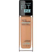 Maybelline Fit Me Matte + Poreless Liquid Foundation, Warm Honey