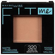Maybelline Fit Me Matte Poreless Powder, Natural Tan