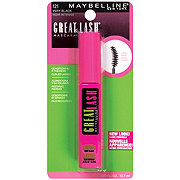 Maybelline Great Lash Very Black Mascara With Curved Brush