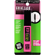 Maybelline Great Lash Washable Mascara, Blackest Black