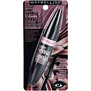 Maybelline Lash Sensational Luscious Washable Mascara, Blackest Black