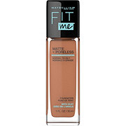 Maybelline New York Fit Me Matte + Poreless Foundation, Spicy Brown