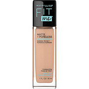 Maybelline New York Fit Me Matte + Poreless Foundation, True Beige