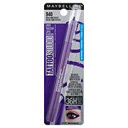 Maybelline TattooStudio Eye Liner Gel Pencil Rich Amethyst