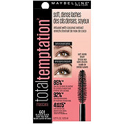 Maybelline Temptation Mascara Washable Blackest Black
