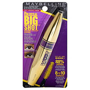 Maybelline Volum' Express The Colossal Big Shot Washable Mascara, Blackest Black