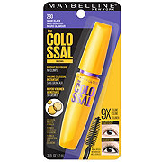 Maybelline Volum' Express The Colossal Washable Mascara, Glam Black