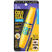 Maybelline Volum' Express The Colossal Waterproof Mascara, Glam Black