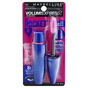 Maybelline Volum' Express The Rocket Washable Mascara, Very Black