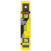 Mayes Mayes 9 Inch Magnetic Poly Torpedo Level with V-Groove