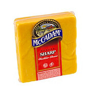 McCadam Sharp Yellow New York Cheddar Cheese, sold by the