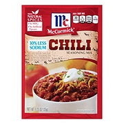McCormick 30% Less Sodium Chili Seasoning Mix