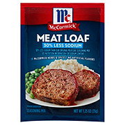 McCormick 30% Less Sodium Meat Loaf Seasoning Mix