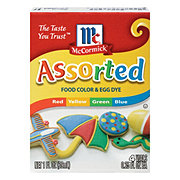 McCormick Assorted Food Color and Egg Dye