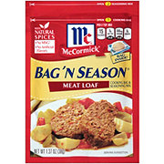 McCormick Bag 'N Season Meat Loaf Cooking Bag and Seasoning Mix
