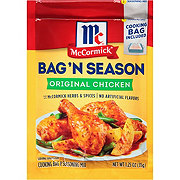 McCormick Bag 'n Season Original Chicken Cooking Bag & Seasoning Mix