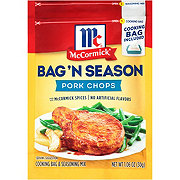 McCormick Bag 'N Season Pork Chops Cooking Bag and Seasoning Mix