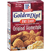 McCormick Golden Dipt Fry Easy Original Homestyle Chicken Fry Mix