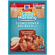 McCormick Good Morning Slow Cooker Breakfast Apple Cinnamon French Toast