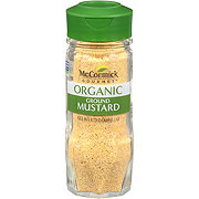 McCormick Gourmet Collection 100% Organic Ground Mustard