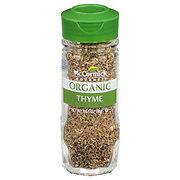 McCormick Gourmet Organic Thyme Leaves