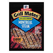 McCormick Grill Mates 25% Less Sodium Montreal Steak Marinade