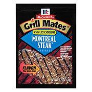 McCormick Grill Mates Montreal Steak Marinade 25% Less Sodium