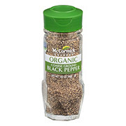 McCormick Organic Coarse Ground Black Pepper