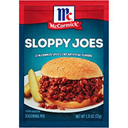 McCormick Sloppy Joes Mix