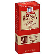 McCormick Small Batch Pure Vanilla Extract