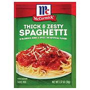 McCormick Thick And Zesty Spaghetti Sauce Mix