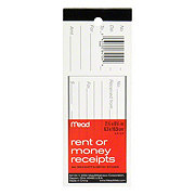 Mead 86 Rent Or Money Receipts With Stubs, 2.5x6.5 in