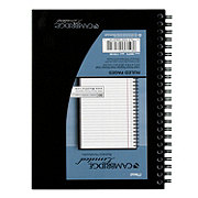 Mead Business Spiral Notebook Black 5x8 1 Subject