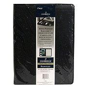 Mead Cambridge Black Zipper Padfolio 13x9.63 in