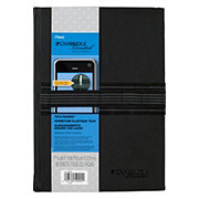 Mead Cambridge Limited Bungee Notebook, Black
