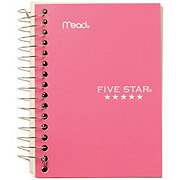 Mead Five Star College Ruled Fat Lil' Notebook, Assorted Colors