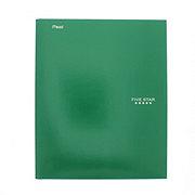 Mead Five Star Pocket & Prong Folder, Green