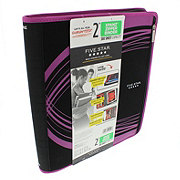 Mead Five Star Xpanz Zip Binder, Assorted Colors