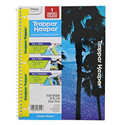 Mead Trapper Keeper One Subject Notebook, Colors May Vary