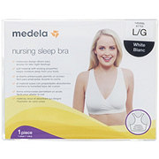 Medela Nursing Sleep Bra White Large
