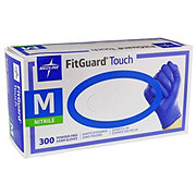 Medline Fitguard Touch Nitrile Gloves Medium