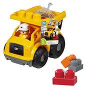 Mega Bloks CAT Lil Dump Truck Toy