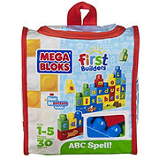 Mega Bloks First Builders Build and Learn ABC Spell